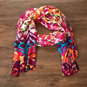 🦃4/$20🦃 Bright Abstract Scarf